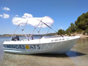 alquiler barca sin titulación